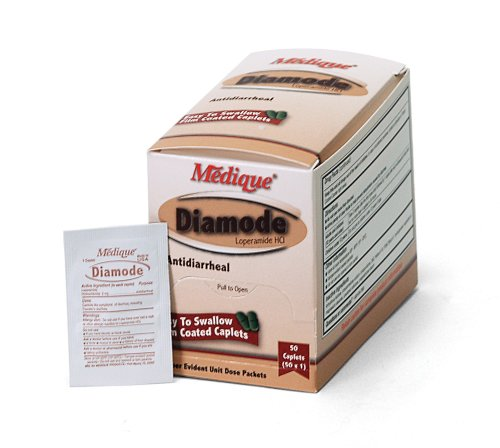 Medique Products 20050 Diamode, 50-Packets of 1