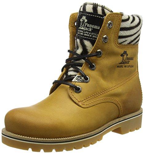 por para B2 Vintage 03 Gelb Casa Mujer de Zapatillas Estar Panama Jack Cebra 7pgYwqBq