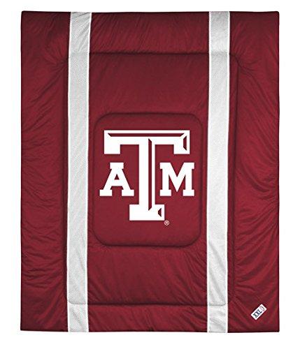 Texas A&M University Jersey Stripe Comforter (Twin) ()