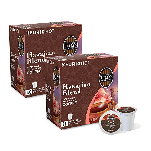 Tully's Hawaiian Blend Coffee 180 K-Cup Pods by Tully's Coffee