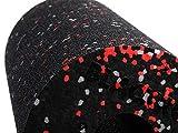 Blackroll Foam Roller, Standard Black/White/Red, 12' x 6'
