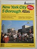 img - for New York City 5 Borough Atlas. 3rd Large-scale Edition. book / textbook / text book
