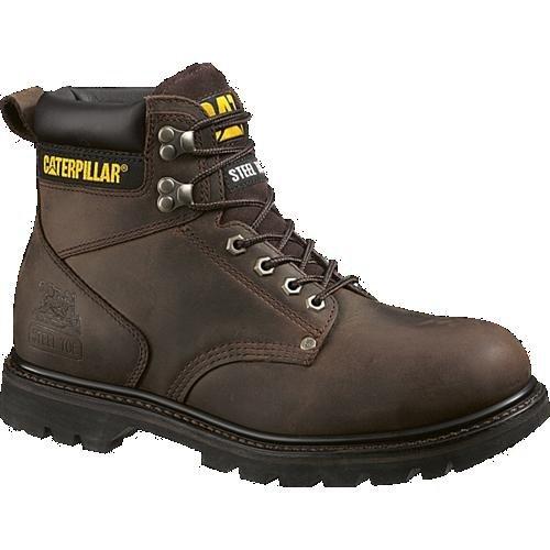 Caterpillar Men's Second Shift Steel Toe Work Boot,Dark Brown,14 M US