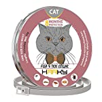 GORAUL Flea and Tick Collar for Cats - 8 Months Protection - Hypoallergenic..