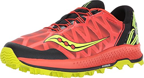 Saucony Men's Koa ST Running Shoe, Orange Citron, 8.5 Medium US