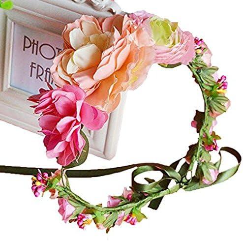 Vivivalue Boho Flower Crown...