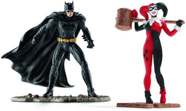 DC Comics - Scenery Pack Batman vs. Harley Quinn (Schleich 22514)