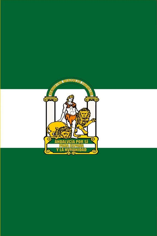 Bandera Andalucía: un diario cuaderno de composición perfecta para escribir en 6x9 pulgadas con el regalo cuadernos de 120 páginas del diario para ... renglón ancho   bandera andalucia españa: Amazon.es: Andaluza,