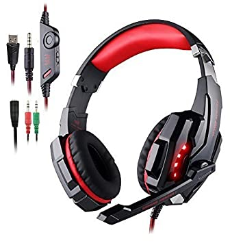 Kotion Each G9000 3,5 mm KOTION deindesign Gaming Headset Auriculares estéreo con micrófono luz