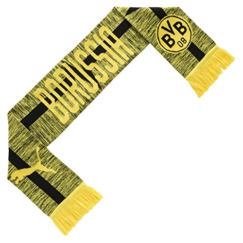 Champions World Italy Cup - German Bundesliga Borussia Dortmund PUMA Licensed AccessoriesOfficial License Supplier of Replica and On-Pitch Merch, Cyber Yellow-Puma Black, One Size