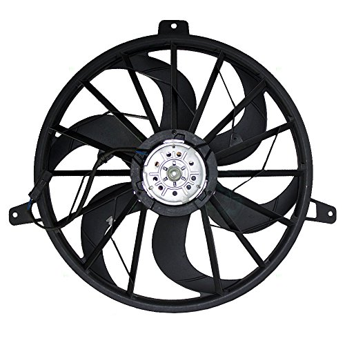 Amazon Com Radiator Cooling Fan Blade With Motor Replacement For