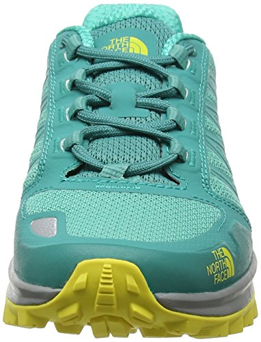 The North Face Damen Litewave Fastpack Trekking-& Wanderhalbschuhe Grün (Porcelain Grün/blazing Gelb)
