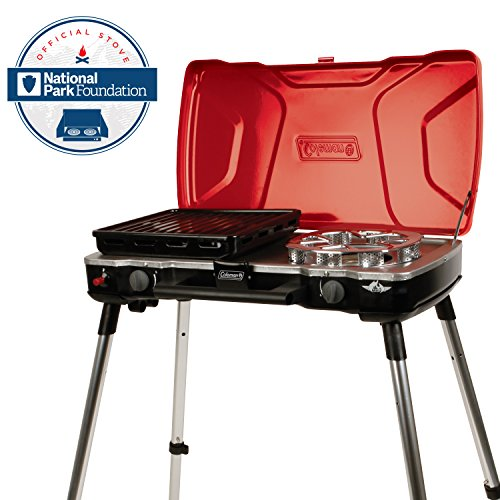 Coleman FyreMajor 3-IN-1 Propane Stove (Coleman Camping Cook Stove compare prices)