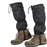 Topshion Outdoor Waterproof Snowproof Gaiters Leg Boot Shoe Cover High Legging for Hiking Walking Climbing
