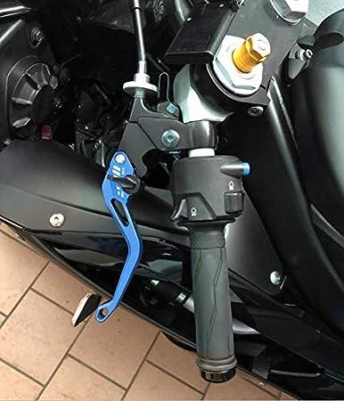 Auzkong Brems Kupplungshebel Für H0nda Cbr 125r 2004 2016 Cbr 150r 2004 2016 Kupplung Bremshebel Blau Auto
