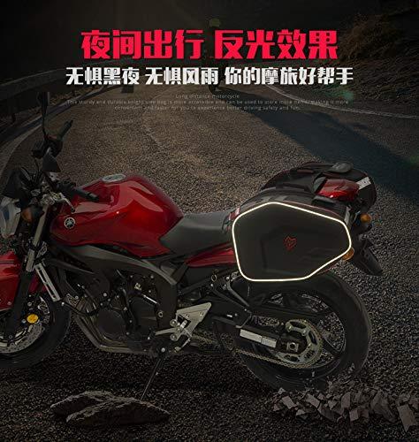 Waterproof Oxford Cloth Motorcycle Panniers Saddle Bags Travel Bales