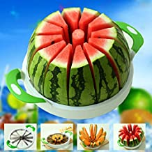 28CM Large Watermelon Cutter Slicer Stainless Steel Fruit Perfect Corer Slicer Kitchen Tools