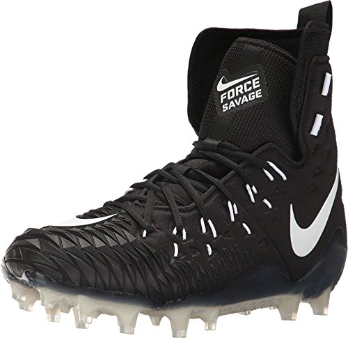(Nike Force Savage Elite TD Black Men's Football Cleat Size 10 )