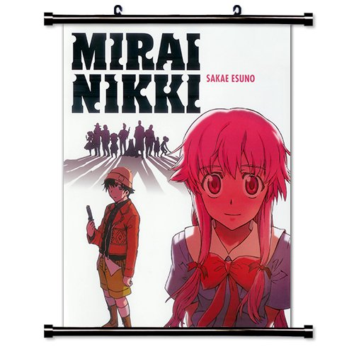 Mirai Nikki Anime Fabric Wall Scroll Poster  Inches