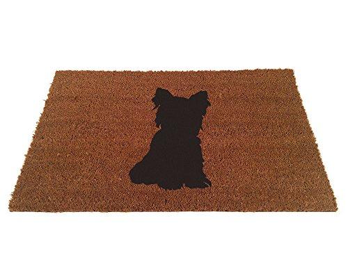 Yorkshire Terrier Doormat - Yorkie Sitting (18