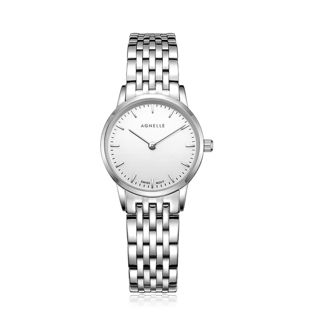 Women's quartz analog ultra-thin watches,Water resistant Classic Luxury Business Casual Mesh stainless steel Roman numeral Dress Wrist watch -D