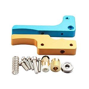 WINSINN Upgrade Bowden MK8 Extruder Aluminum Drive Feed Hotend Kit For Anet A8 Ender 3 RepRap Prusa i3 3D Printer 1.75mm Nozzle Filament