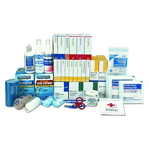 First Aid Only 90623 ANSI 2015 Compliant 3 Shelf Class B+, First Aid Kit Refill, with (First Aid Refill Kit)