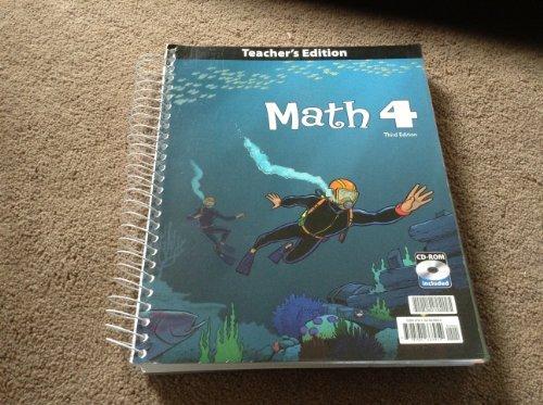 Math Grade 4 Teacher's Edition with CD 3rd Edition