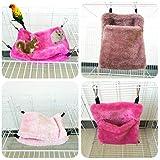 Popular Warm Bed Rat Hammock Squirrel Winter Toys Pet Rat Hamster Cage House Hanging Nest 2019 New (Random)