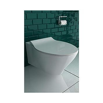 Super Spülrandloses Hänge WC Keramik Toilette ohne Spülrand inkl NX38