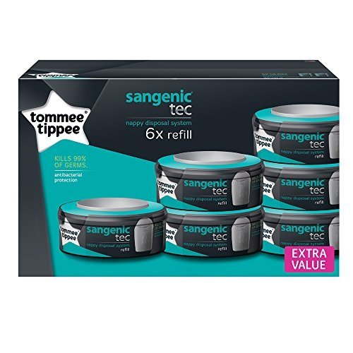 39 90 24 tommee tippee sangenic recharge pour. Black Bedroom Furniture Sets. Home Design Ideas