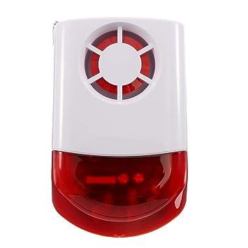 DY-JH100B Alarma de Seguridad de Sirena de Exterior ...