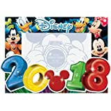 Disney 2018 Photo Frame 4x6 Big Numbers Mickey Mouse