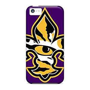 High-end Case Cover Protector For Iphone 5c(lsu Tiger Eye)