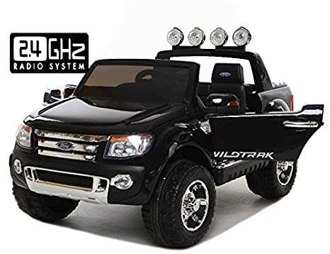 f3b6fb826c Ford Ranger Wildtrak, Macchina Elettrica per Bambini, Toy Car, 2 motori, a