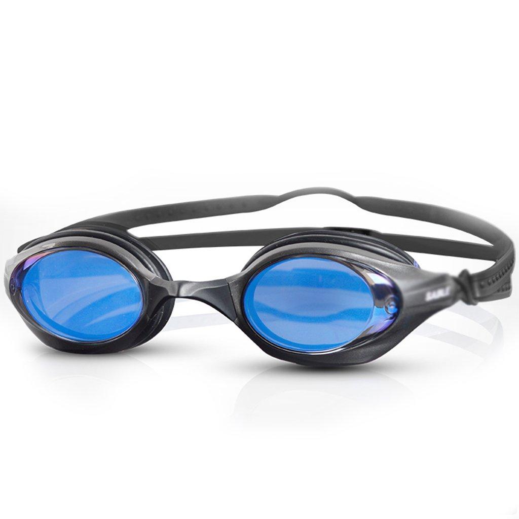 XY ゴーグルアダルトプロフェッショナルトレーニングスイミングゴーグル抗UV防曇防水HDコーティング水泳競技会 ウォータースポーツメガネ (色 : B)  B B07PBH41V8