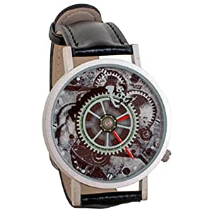 Charlie Chaplin Modern Times Unisex Analog Water Resistant Novelty Gift Watch