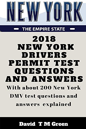 2018 New York Drivers Permit Test Questions And Answers