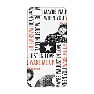 Ultra Thin 3D Case Cover edsheeran Phone Case for iPhone 5s