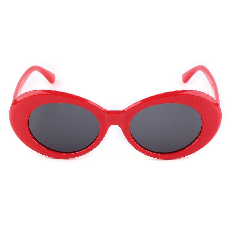 MIOIM® Sonnenbrille Damen Herren UV400 Vintage Retro Runde Brille ...