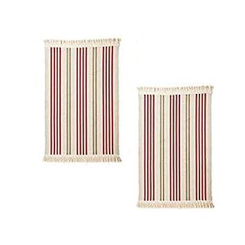 Ikea flatwoven Küche Bereich Teppich mit Farbe Streifen, 22 x 33 ...
