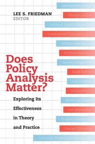 Does Policy Analysis Matter?: Exploring Its Effectiveness in Theory and Practice (Wildavsky Forum Series)
