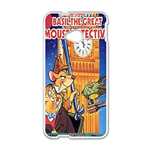 Basil the great mouse detective Case Cover For HTC M7