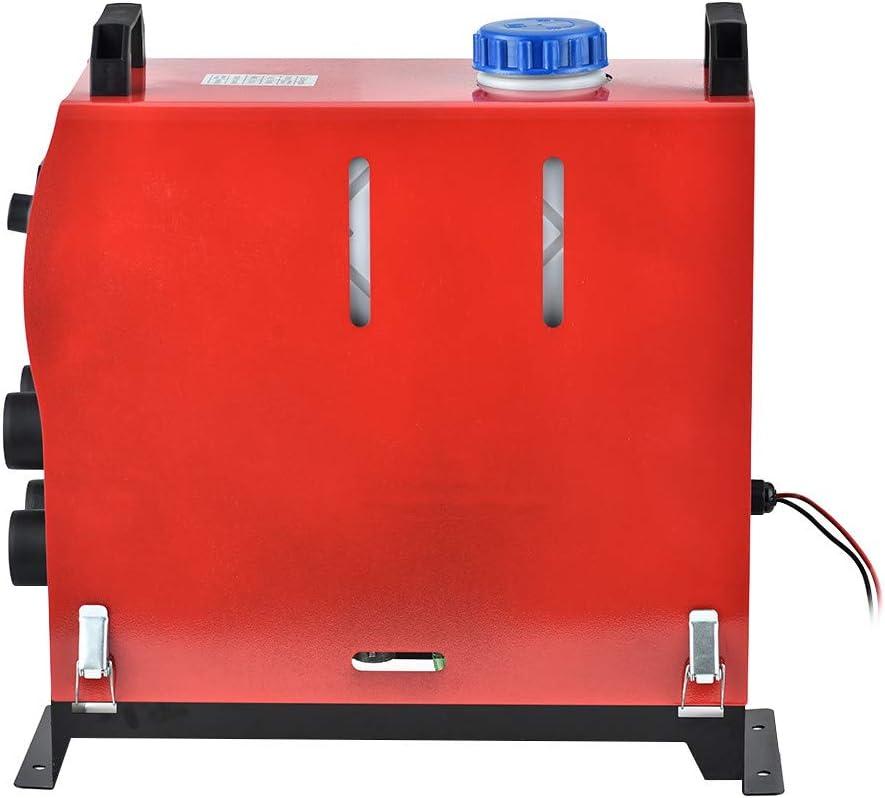 Kacsoo Auto Kraftstoff Diesel Lufterhitzer Zwangsluft Standheizung mit Fernbedienung 5KW 12V Alle In 1 Integrierte Maschine F/ür LKW Motorboot Anh/änger,4 L/öcher