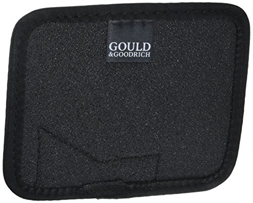 Gould & Goodrich 702-1 Concealment Wallet Holster, Charcoal, Right ()
