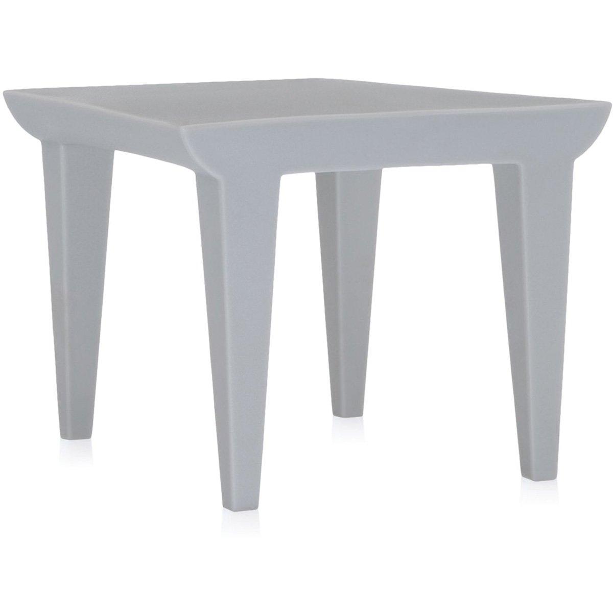 Kartell 6080/60 Bubble Side Table Tavolino, Bianco
