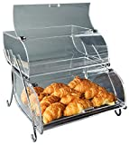 Rosseto BAK2937 2-Shelf Bakery Display Case, Clear