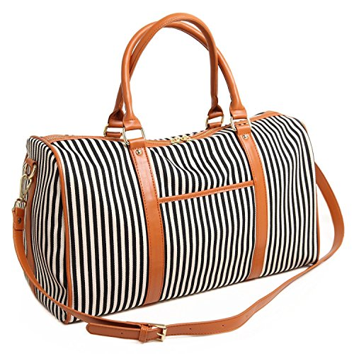 BAOSHA HB-25 Ladies Women Canvas Holdalls Weekender Bag Trav