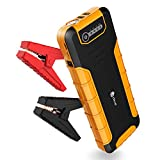 Automotive : [PD 30W Quick Charger] iClever 800A Peak 20000mAh Car Jump Starter, Power Delivery 30W USB Type-C Power Bank with Dual USB 3.0 Quick Charging for Nintendo Switch, MacBook 2015/ 2016, USB Type C Laptop