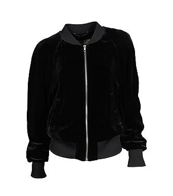 920f29449de7 Drykorn Damen Jacke Bailey aus Samt schwarz: Amazon.de: Bekleidung